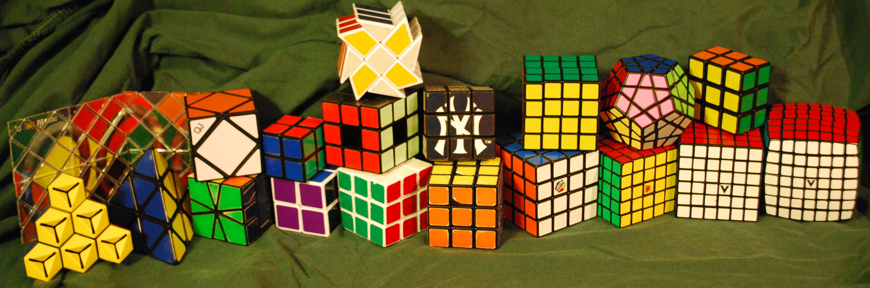 How to collect a rubiks cube