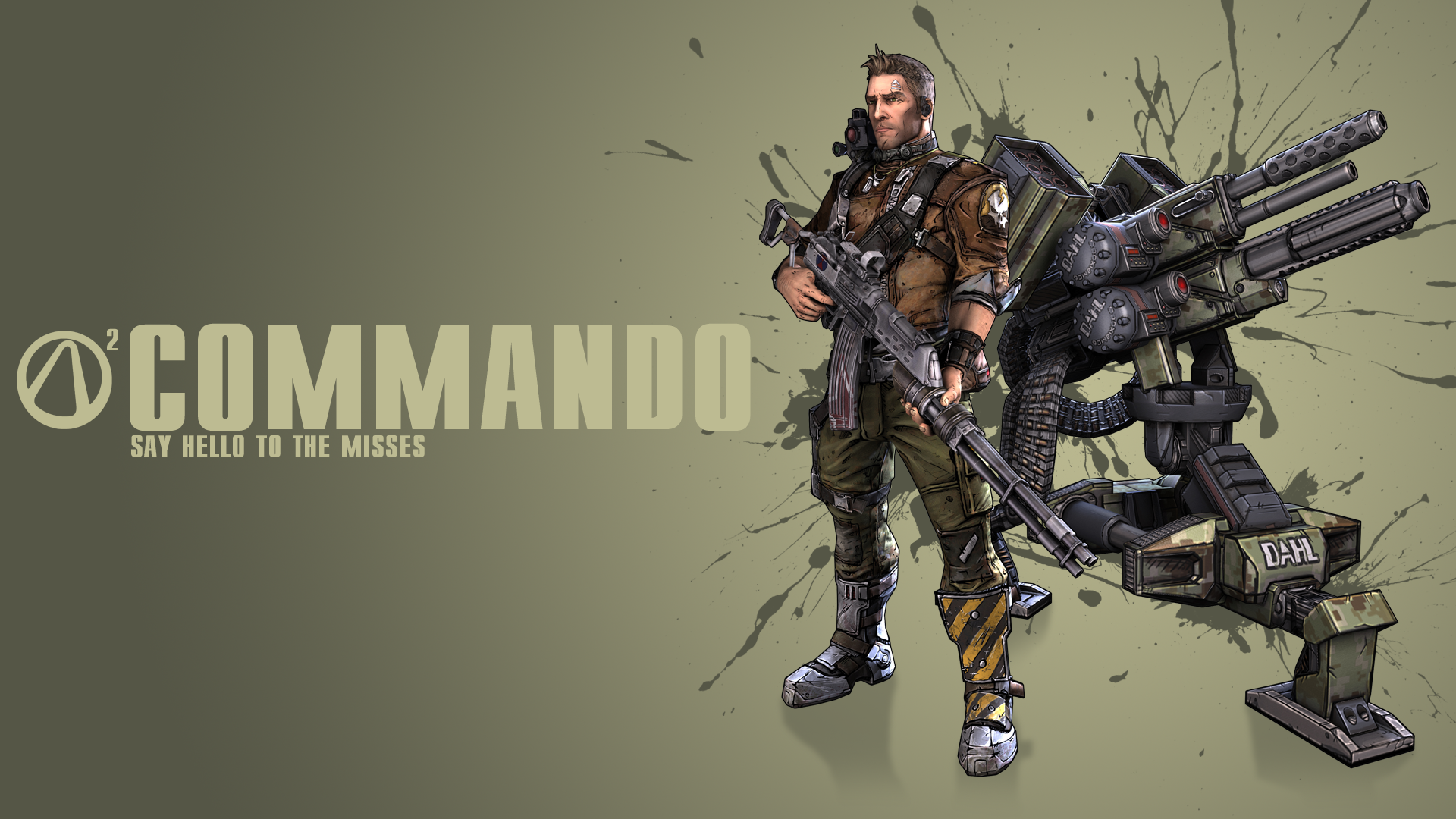 borderlands 2 wallpaper axton - photo #3