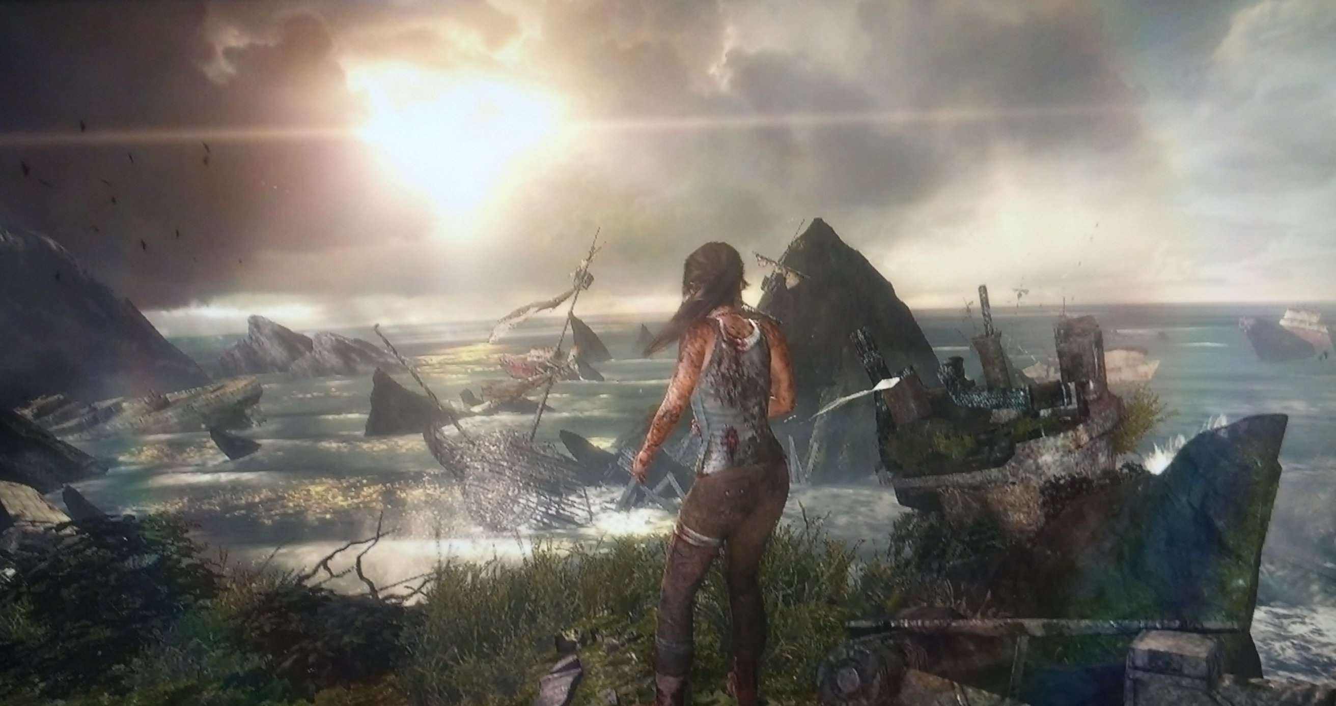 Tomb Raider First Thoughts Slateblog