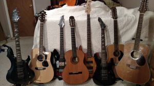 Guitar Collection 2015!